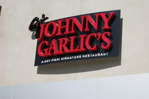 JG wall sign
